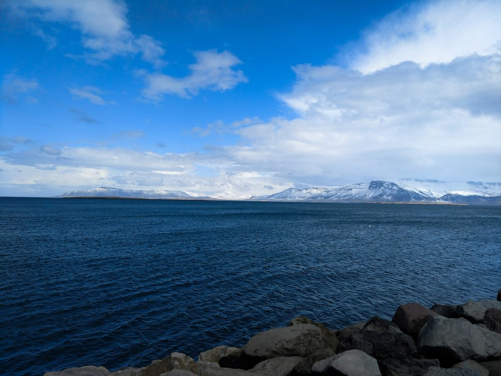 View of Mt. Esja from Reykavik