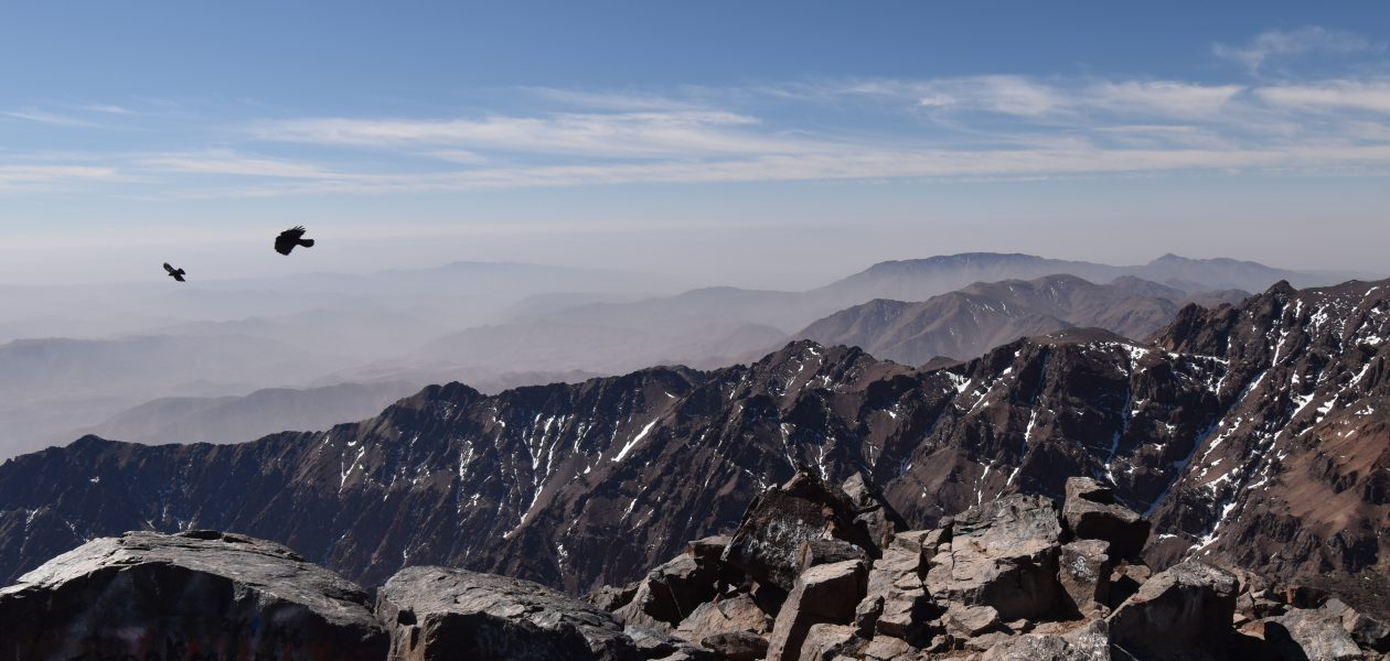 Summit of Jebel Toubkal